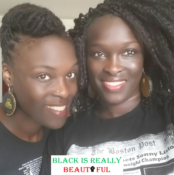 Fondatrices de l'association blackisreallybeautiful