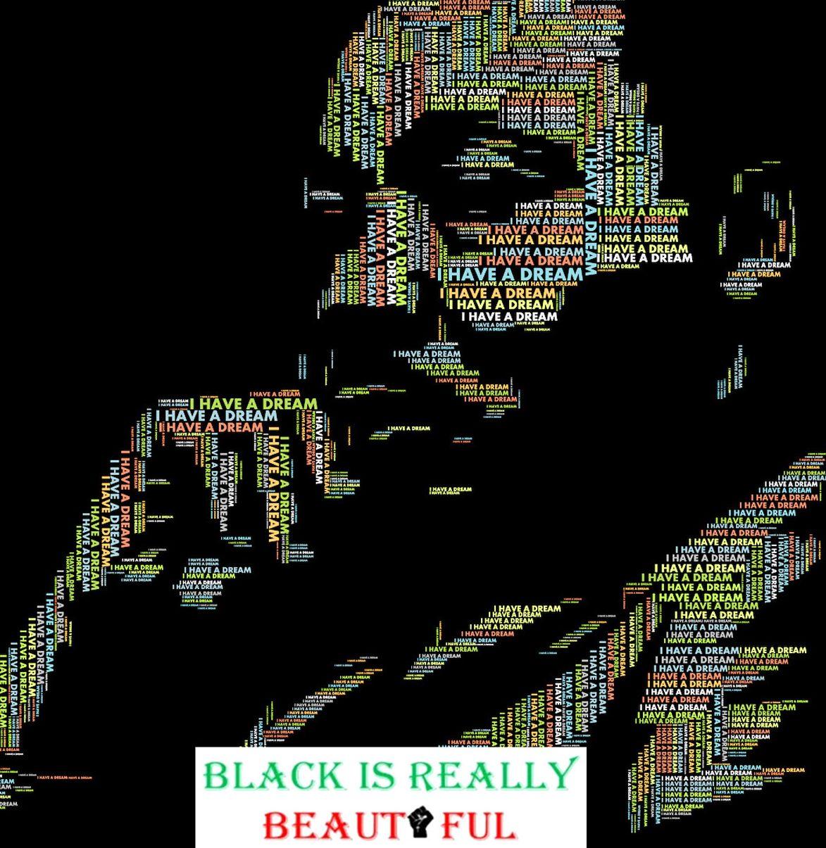 Martin Luther King Blackisreallybeautiful
